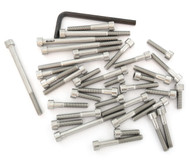 Stainless Steel Allen Bolt Set - Honda CR125R - 1986
