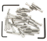 Stainless Steel Allen Bolt Set - Honda CB125S - 1976-1978