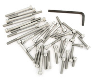 Stainless Steel Allen Bolt Set - Honda CR500R - 1985