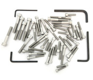 Stainless Steel Allen Bolt Set - Honda CJ360T - 1976-1977