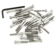 Stainless Steel Allen Bolt Set - Honda CM250C - 1982-1983