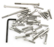 Stainless Steel Allen Bolt Set - Honda VFR750F Interceptor - 1986