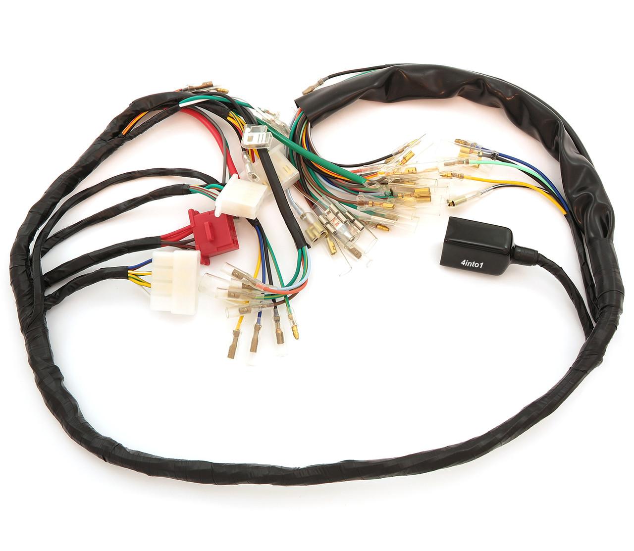 main wiring harness 32100 341 703 honda cb750k 1973 1975. Black Bedroom Furniture Sets. Home Design Ideas