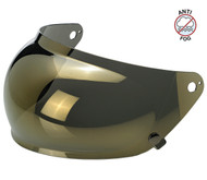 Biltwell Gringo S Bubble Shield Anti Fog - Gold Mirror