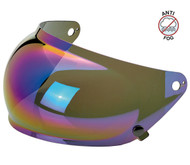 Biltwell Gringo S Bubble Shield Anti Fog - Rainbow Mirror