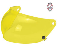 Biltwell Gringo S Bubble Shield Anti Fog - Yellow