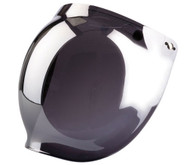Z1R - 3 Snap Flip Up Bubble Shield - Mirror