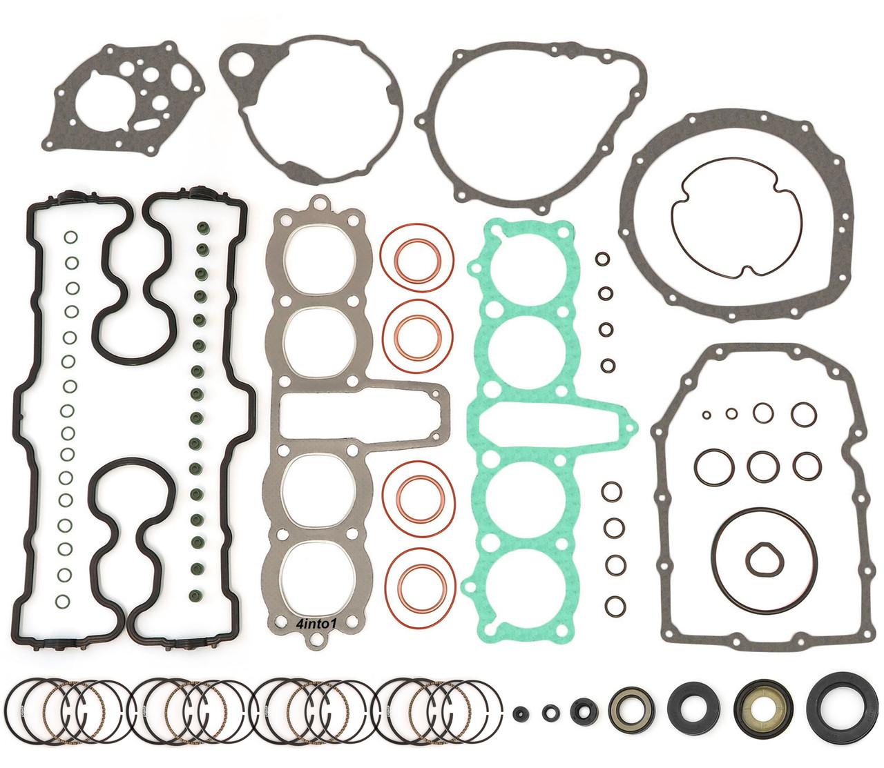 Honda CR 500 R 1984 Crank Shaft Mains Left /& Right Oil Seal Kit