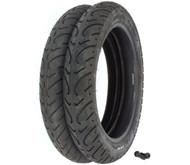 Kenda K657 Challenger Tire Set - Honda CM400A/C/T 81 CM450A/C