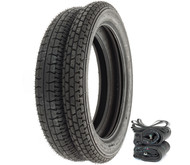 Metzeler Block C Tire Set - Honda CL72 CL77