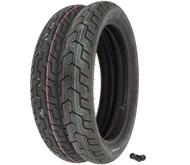 Dunlop D404 Tire Set - Honda VT700C VT750C VT800C Shadow