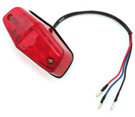 Lucas Style LED Tail Light - Red