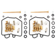 Set of 2 Deluxe Carburetor Rebuild Kits - Honda CB450T/SC CM450