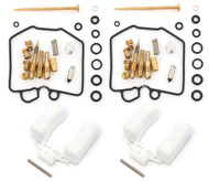 Deluxe Carburetor Rebuild Kit With Floats - Honda CB450T/SC CM450