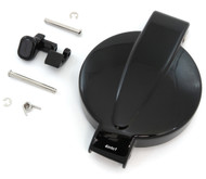 Gloss Black Gas Tank Cap & Latch Set - Honda CB/CL200/350/360/450 SL350K CB400F/500/550K/750K