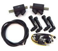 Magna Ignition Coils Caps and Wire - 3 ohms - Honda CB650 GL1100/1200