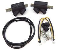 Set of 2 Magna Dual Output Coils with Wire - 5 ohms - Honda CB350F/400F/500K/550/750 GL1000