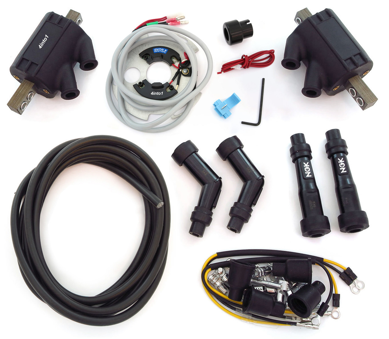 Electronic Ignition Kit - Dynatek - Kawasaki KZ900 Z1 on ninja 250r wiring diagram, kz440 wiring diagram, vulcan 1500 wiring diagram, zl1000 wiring diagram, kz200 wiring diagram, kz750 wiring diagram, kz650 wiring diagram, ex250 wiring diagram, ex500 wiring diagram, kz400 wiring diagram, ke175 wiring diagram, zx7r wiring diagram, zx12 wiring diagram, klr650 wiring diagram, kz550 wiring diagram, kawasaki wiring diagram, gs400 wiring diagram, z1000 wiring diagram, kz1000 wiring diagram, vn1500 wiring diagram,