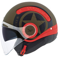 Nexx SX10 Helmet - Hero Military Green