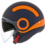 Nexx SX10 Helmet - Orange / Matte Black