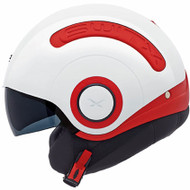 Nexx SX10 Helmet - Red /  White