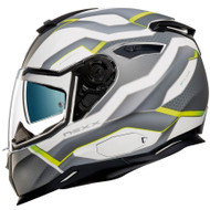 Nexx SX100 IFLUX Helmet - White / Black / Green