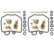 Set of 2 Deluxe Carburetor Rebuild Kits - Honda CB450SC Nighthawk - 1983-1986
