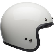 Bell Custom 500 Helmet - Solid Vintage White