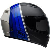 Bell Qualifier DLX MIPS-Equipped Helmet - Illusion Matte / Gloss Black / Blue / White