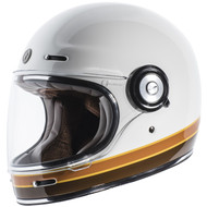 Torc T1 Helmet - Gloss White Iso Bars