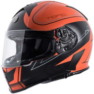 Torc T14 Mako Helmet - Flat Black Stryker Orange