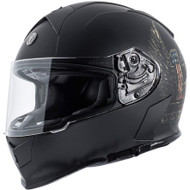 Torc T14 Mako Helmet - Flat Black Wings