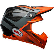Bell Moto-9 Carbon Flex Helmet - Gloss / Matte Orange / Charcoal Hound