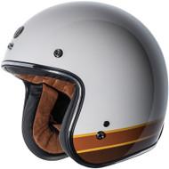 Torc T50 Helmet - Gloss White Iso Bars
