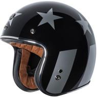 Torc T50 Helmet - Gloss Black Captain