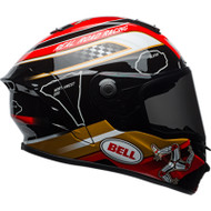 Bell Star MIPS-Equipped Helmet - Isle of Man 18 Gloss Black / Gold