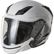 Fly Racing Tourist Cirrus Helmet - White / Silver