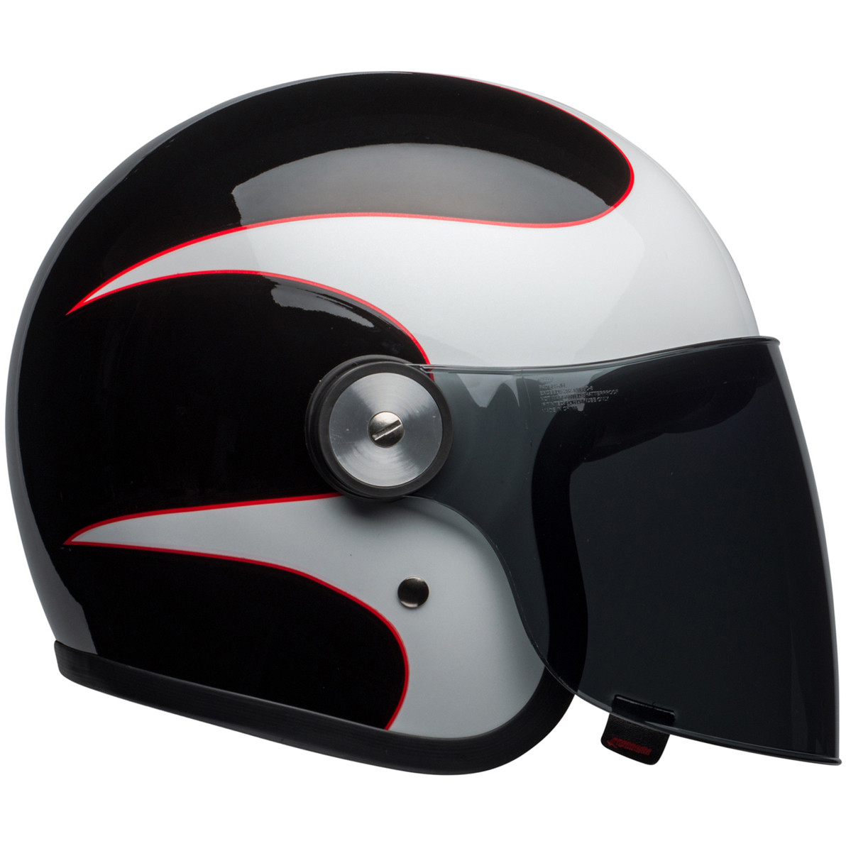 Bell Riot Classic Motorcycle Helmet Solid Gloss Black CHOOSE SIZE