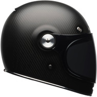 Bell Bullitt Carbon Helmet w/Clear Bubble Shield - Matte Carbon