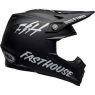 Bell Moto-9 MIPS-Equipped Helmet - Fasthouse Matte Black / White