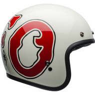 Bell Custom 500 SE Helmet - RSD WFO Gloss White / Red