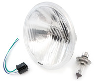 "7"" H4 Halogen Motorcycle Headlight"
