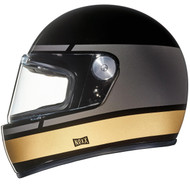 Nexx XG100R Helmet - Record Black / Grey / Gold