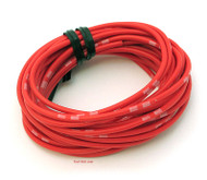 OEM Colored Electrical Wire 13' Roll - Red
