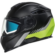 Nexx X VILITUR Helmet - Latitude - Black / Neon Yellow