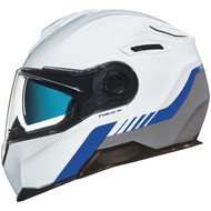 Nexx X VILITUR Helmet - Latitude - White / Blue / Grey