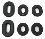 Side Cover Grommet Set - Honda XL100S CB400T/450T GL650 CB750K