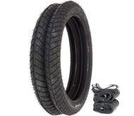 Michelin City Pro Tire Set - Honda PA50 C70 CA100/110