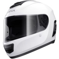 Sena Momentum Lite Bluetooth Full Face Helmet - Gloss White