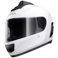 Sena Momentum Pro Bluetooth w/ Integrated QHD Camera Helmet - Gloss White